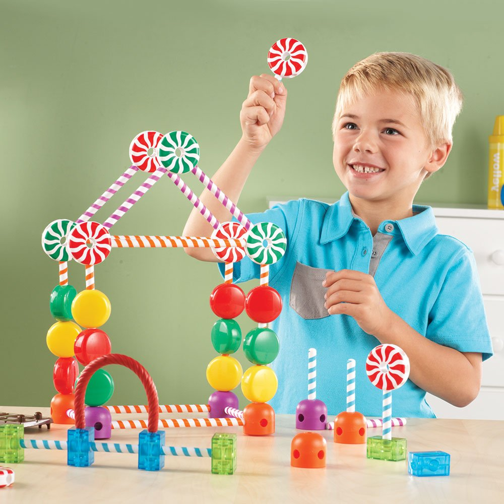 Candy Construction Building Set, 92 Piezas - TODOENCARGO.COM