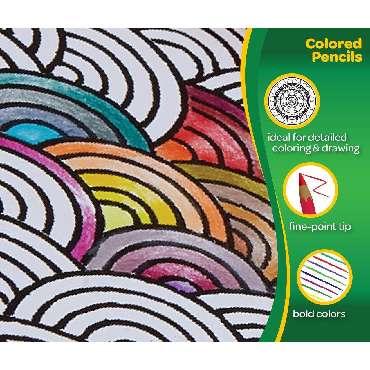 100 Lápices De Colores, Amazon Exclusive, Coloración para Adultos - TODOENCARGO.COM