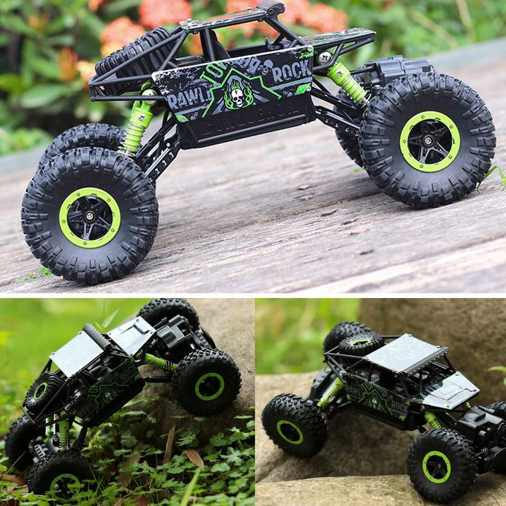 Rc Car Truck 2.4ghz 4wd Potente 1:18 Off-road Climbin... - TODOENCARGO.COM