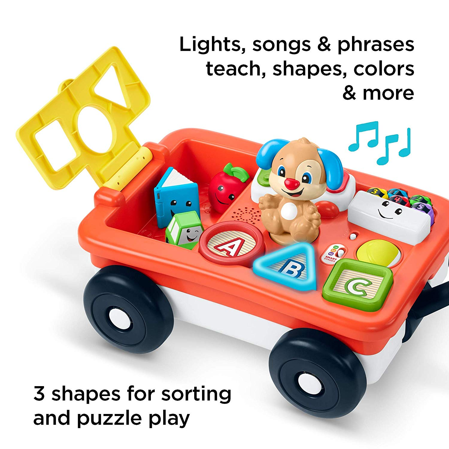 Laugh & Learn Pull & Play Learning Wagon - TODOENCARGO.COM