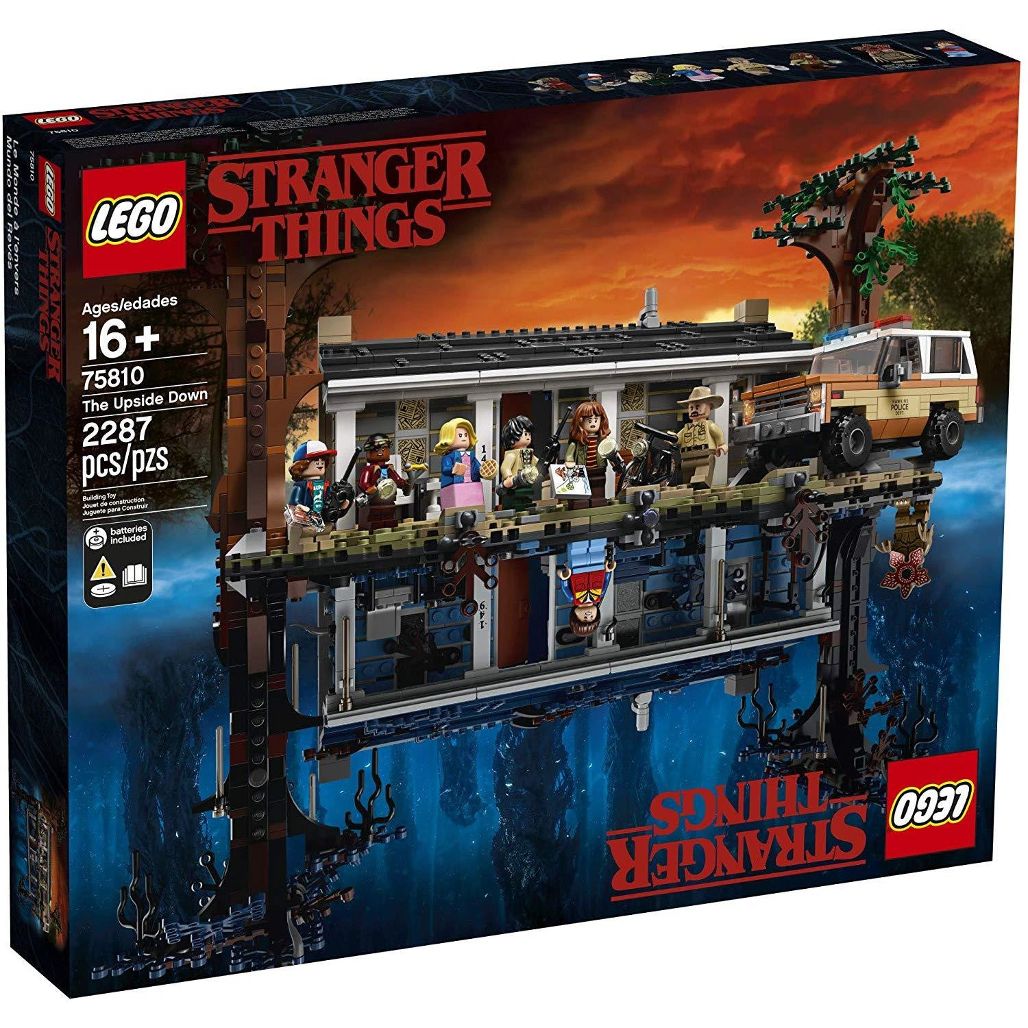 Kit De Construcción Stranger Things The Upside Down ... - TODOENCARGO.COM