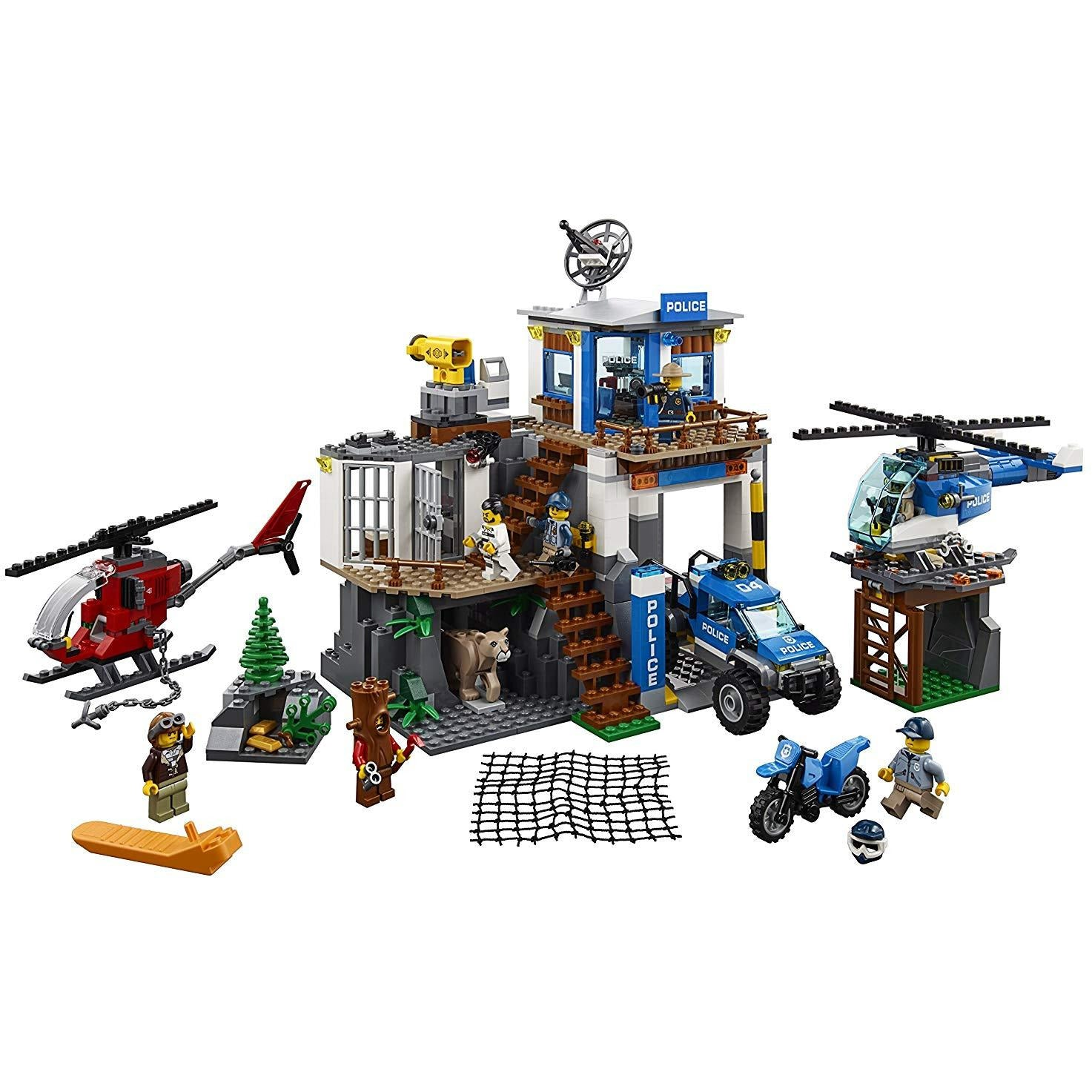 City Mountain Police Headquarters 60174 Kit De Constr... - TODOENCARGO.COM