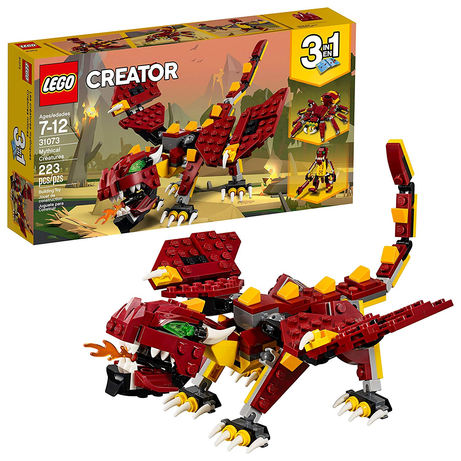 Creator 3in1 Mythical Creatures 31073 Kit De Construc... - TODOENCARGO.COM