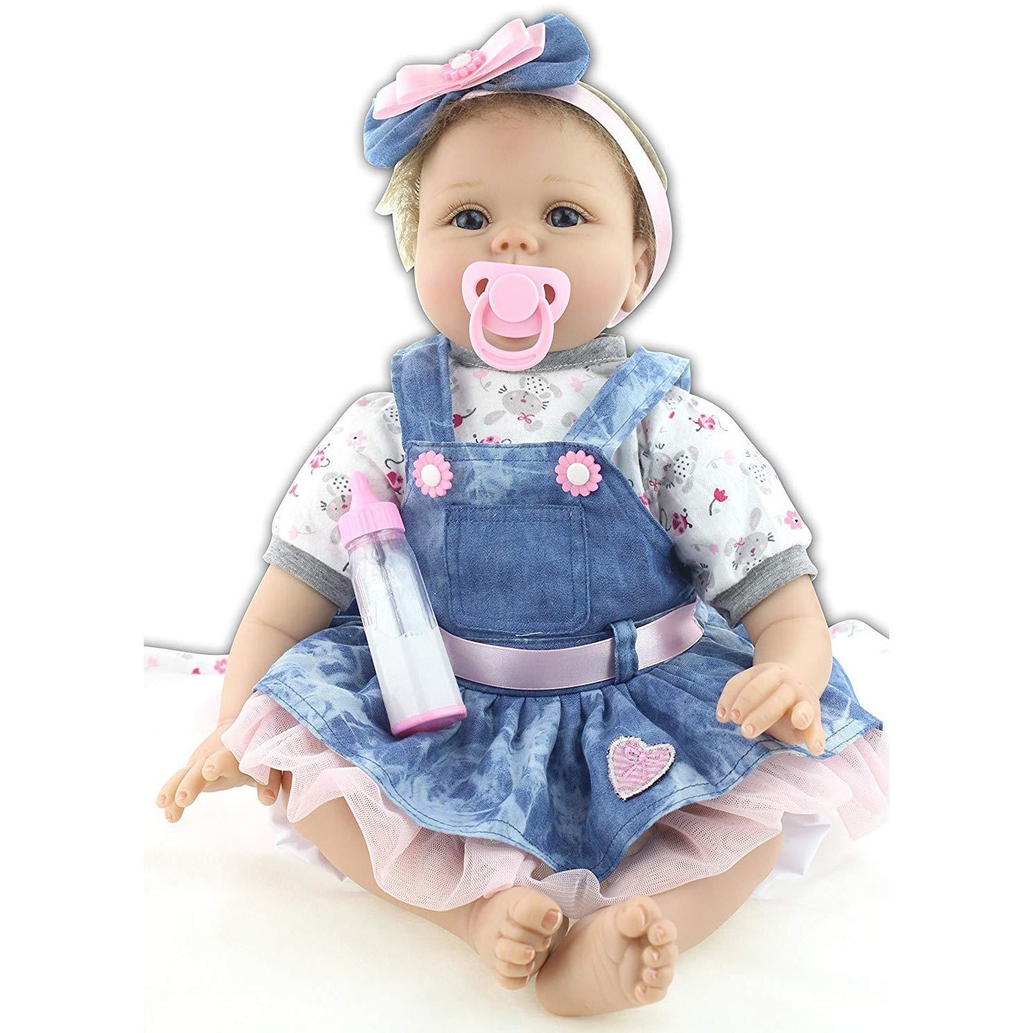 Real Life 22inch 55cm Reborn Baby Dolls Toddler Soft ...