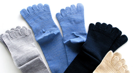 Why we recommend five toe socks.