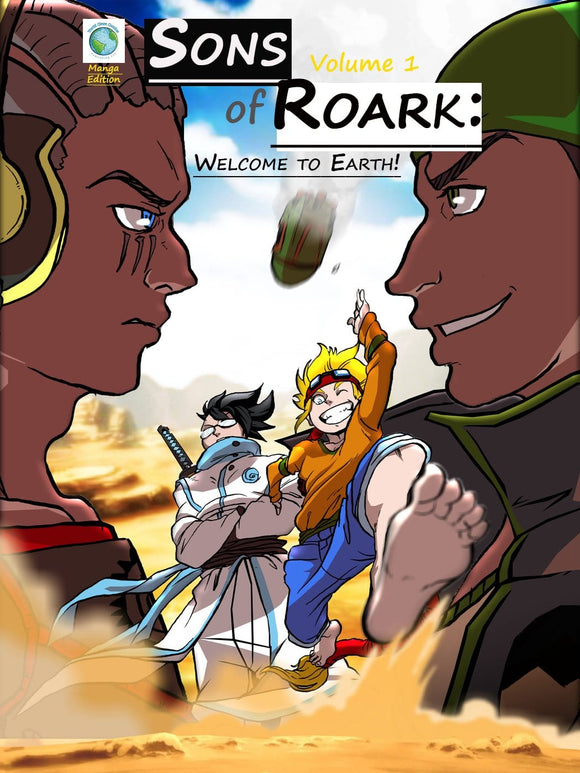 Sons of Roark: Welcome to Earth Comic