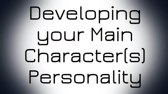 Advanced Comic Course: Developing Your Main Character(s) Personality