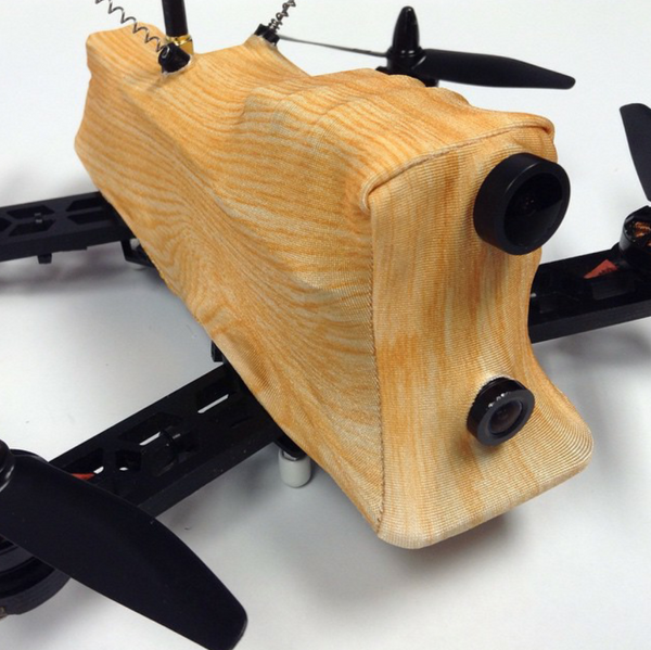 Mini FPV 230/250 Frame WoodSkinz-Light