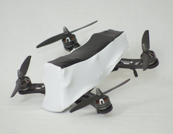ZMR 230 / 250 FPV Mini - 2 Tone White/Carbon Fiber Look