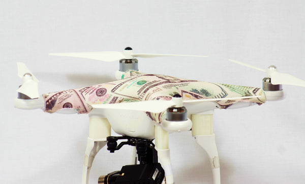 DJI Phantom 1, 2, 3 - American Currency Skinz