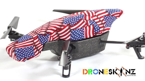 Parrot AR Drone - American Flag Collage