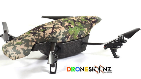 Parrot AR Drone - Camouflage Digi Green