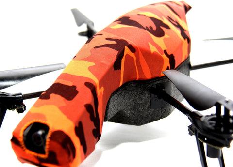 Parrot AR Drone - Camouflage Safety Orange