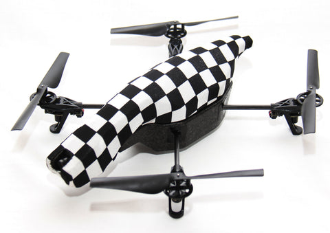 Parrot AR Drone - Checkerboard - Black n White