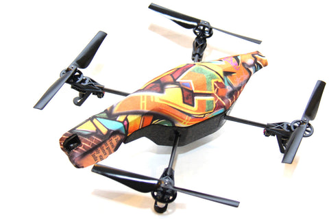Parrot AR Drone - Grafitti Action