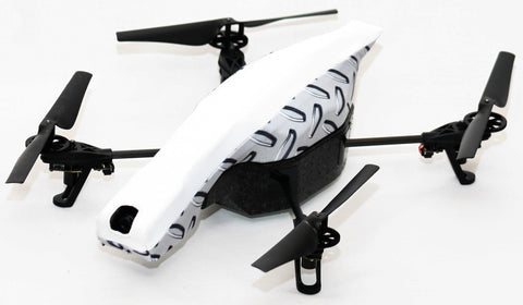 Parrot AR Drone - Diamond SteelSkinz TT Stretch White Vinyl