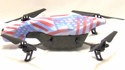 Parrot AR Drone - American Flag - Secondary