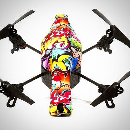 Parrot AR Drone - Grafitti Action II