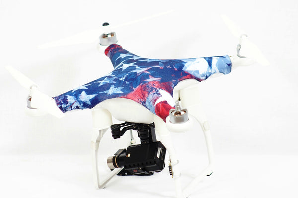 DJI Phantom 1, 2, 3 - USA Flag  - Prime