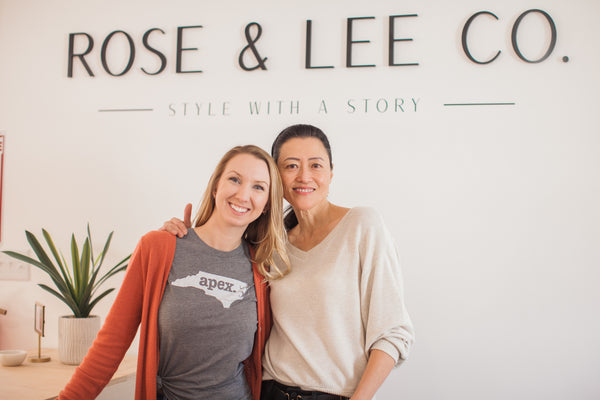 Prisca D'Rozario & Amber Brennan of Rose & Lee Co.
