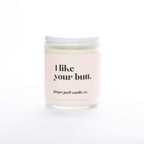 I Like Your Butt, Lavender Amber Candle