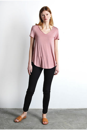 Everyday Tee, Pale Pink