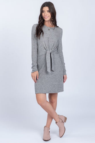 Juliet Dress, Grey