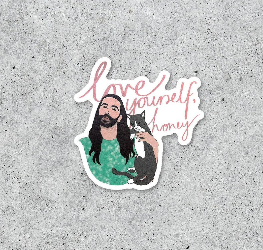 JVN Love Yourself Honey Sticker