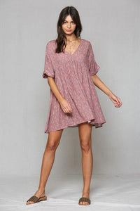 Oakley Dress, Dark Mauve