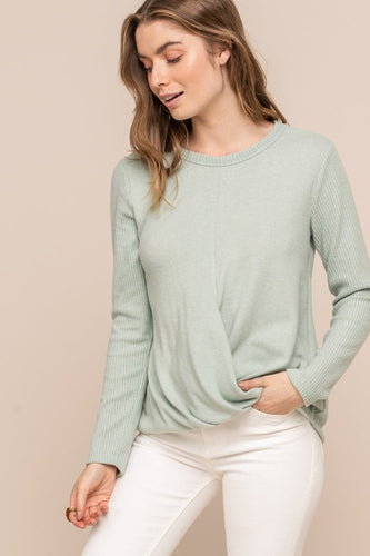 Reese Sweater, Mint