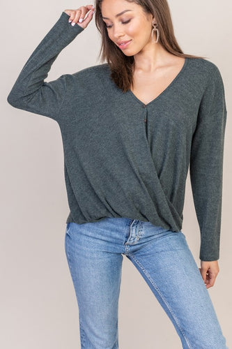 Mila Sweater, Olive