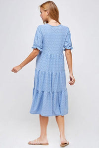 Julia Dress, Blue