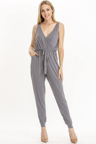 Elizabeth Jumpsuit, Chargray