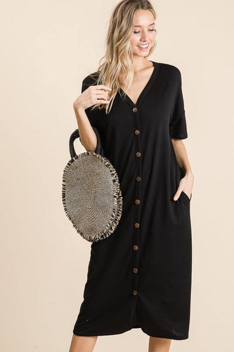 Adaline Dress, Black