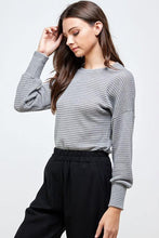Load image into Gallery viewer, Paloma Sweater, Grey