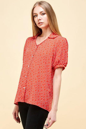 Kimberly Top, Red