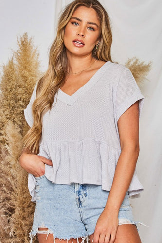 Edith Top, Grey
