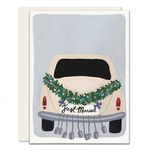 Load image into Gallery viewer, Getaway Car Wedding Card