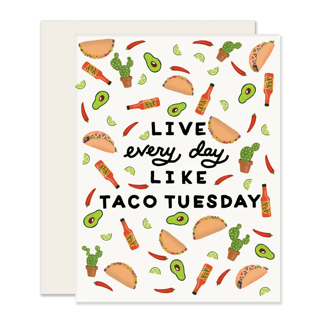 Taco Tuesday Card