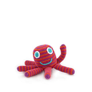 Octopus Rattle, Pink