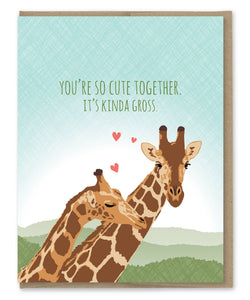 Kinda Gross Giraffes Card