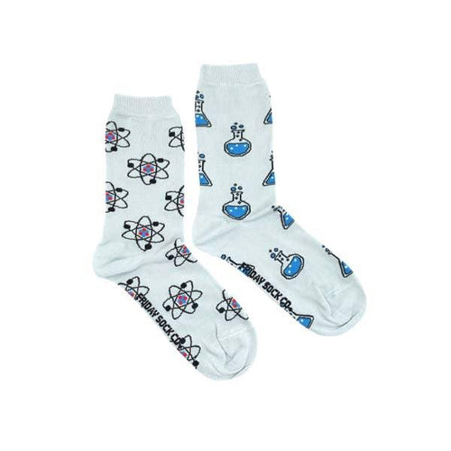 Women's Socks, Atom & Beaker Science