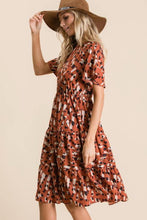 Load image into Gallery viewer, Mallory Dress, Rust Multi