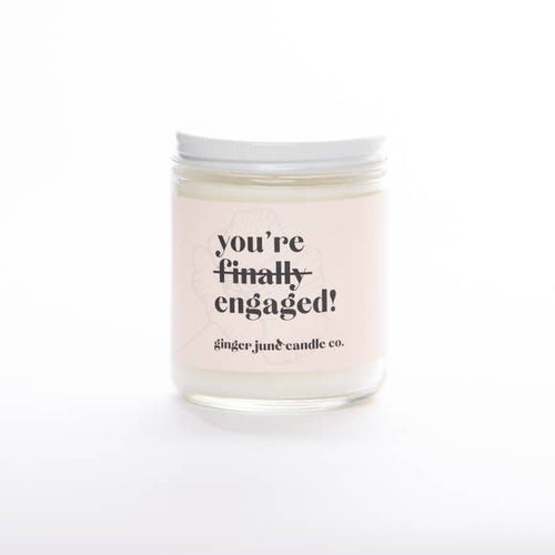 You're Finally Engaged, Coconut Vanilla Candle