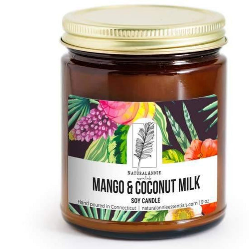 Summer/Spring Mango & Coconut Milk Soy Candle
