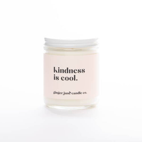 Kindness Is Cool Candle, Apricot & Fig