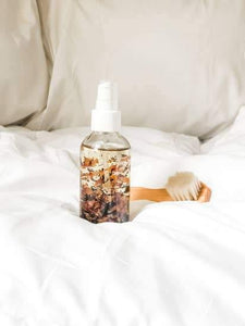 Rosewater and Lemon Body Oil