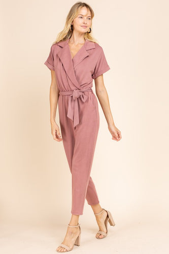 Willa Jumpsuit, Mauve
