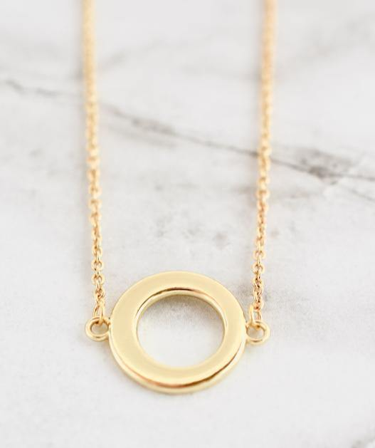 Marley Necklace, Open circle