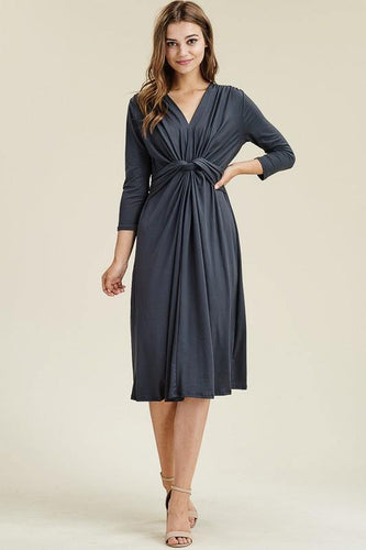 Bette Dress, Navy